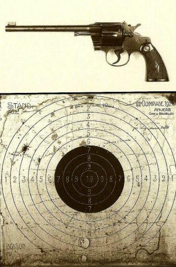 O revólver e o alvo