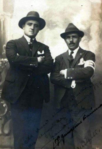 Os medalhistas Afrânio da Costa e Guilherme Paraense. Foto: Afrânio da Costa/arquivo pessoal